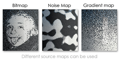Examples of different source maps